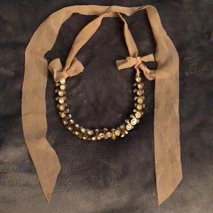 J. Crew Chunky Ribbon Necklace